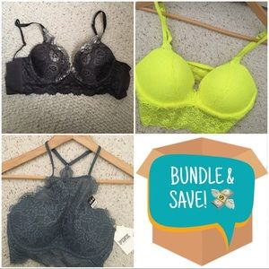 BRA BUNDLE - Victoria Secret La Senza bras XS/32B